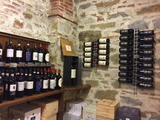 Greve in Chianti, Italy: inside winery