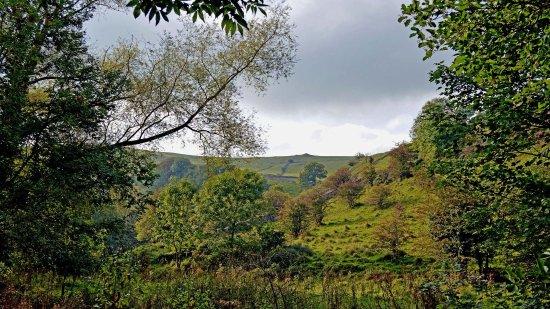Ashbourne, UK: Dove Dale on the return journey