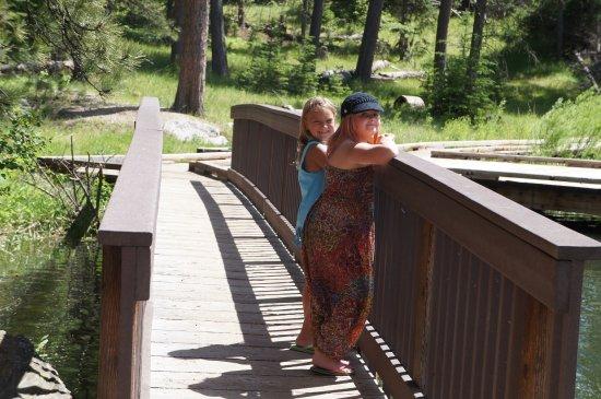 Horse Thief Lake : boardwak and bridges