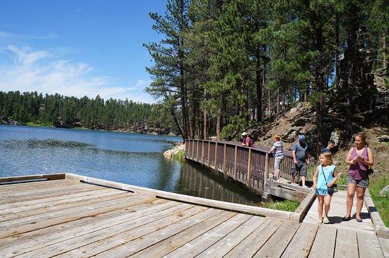 "Horse Thief Lake : easy ""hike"" on boardwalk"