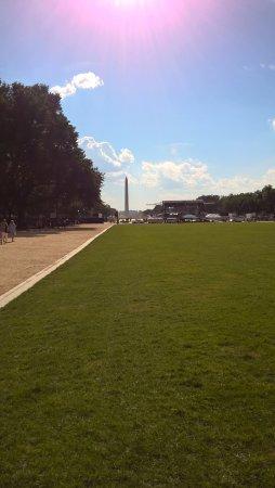 National Mall : pohled od Capitolu