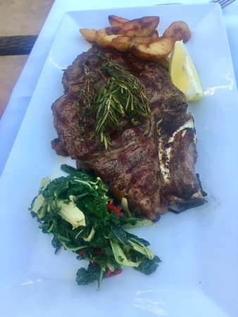 Agoura Hills, Californien: Very herbacious steak