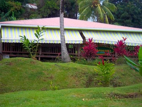 Sainte Marie, Martinique: La devanture de la Bananeraie