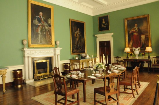 County Kildare, Irland: period room