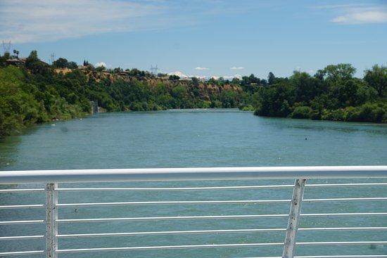 Sundial Bridge: View down the river
