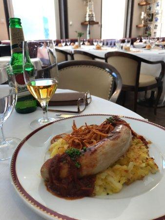 Kulm Hotel St. Moritz: Food at Bob