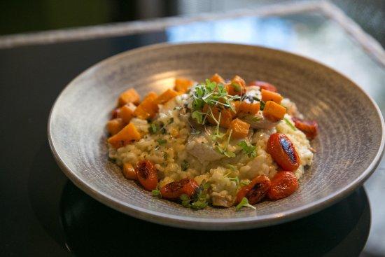 The Courtside Restaurant : Chicken & Mushroom Risotto