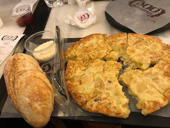 Busnago, Italia: Tortilla