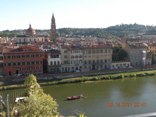 Antica Torre di Via Tornabuoni: Rooftop bar views
