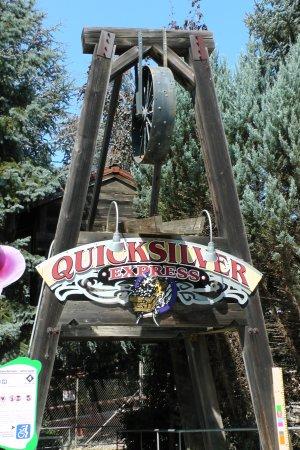 Gilroy, CA: Coaster entrance