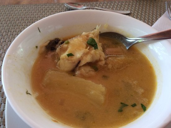 Hotel San Vicente Galapagos: Fish soup - awesome