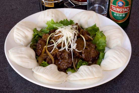 Sunnyvale, CA: Worcestershire Lamb with Steamed Buns