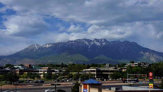 Orem, UT: View from our third floor room......