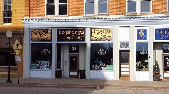 Ephinanys Emporium Outside View Located in Historic Downtown Corry PA