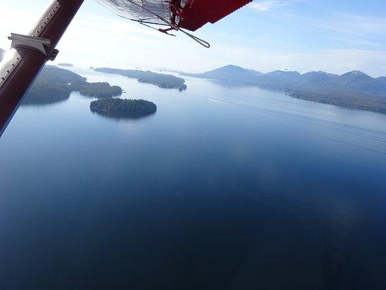 Island Wings Air Service: Beautiful scenery
