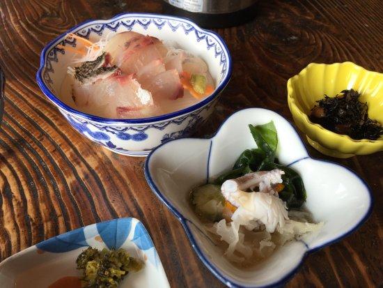 Minamisatsuma, Giappone: 昼定食