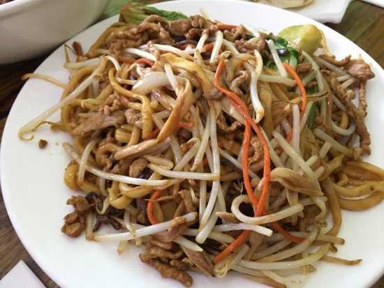 Cupertino, CA: fried noodles