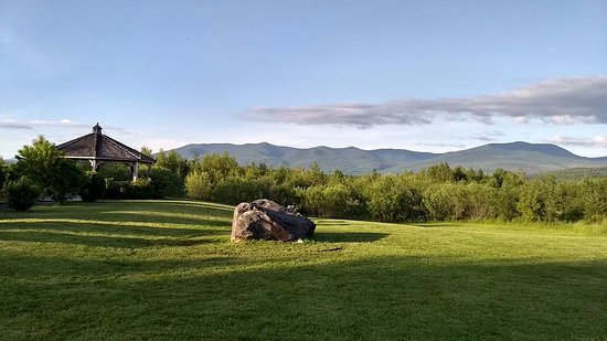 Lancaster, NH: View from the back parking lot