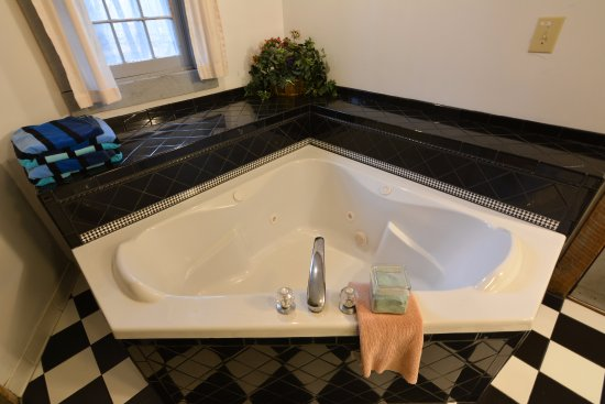 Pilot Mountain, NC: Jacuzzi tub in cabin