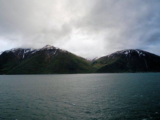 Sogn og Fjordane, Norway: Sognefjord leaving Flam