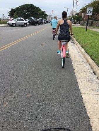 Beaufort, Carolina del Nord: Riding along