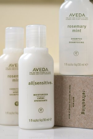 Middlebury, VT: Luxury Aveda amenities!