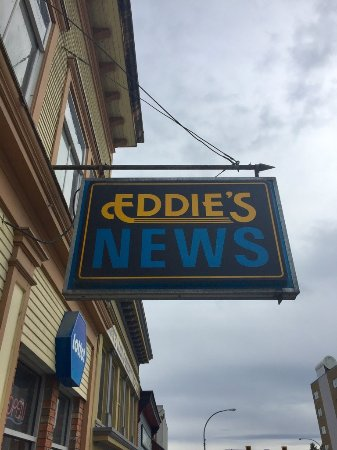 Prince Rupert, Canada: Eddie's News