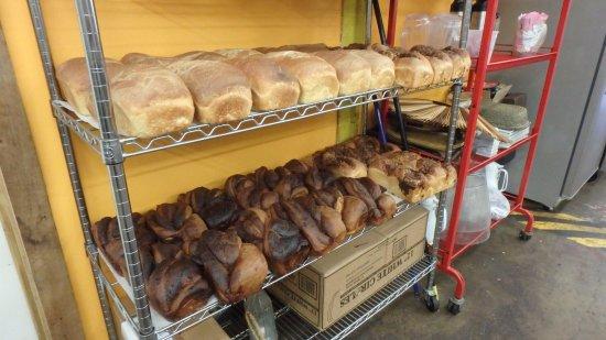 Marshall, NC: Freak baked bread