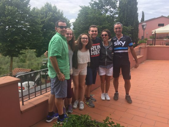 Greve in Chianti, Italy: At the winery