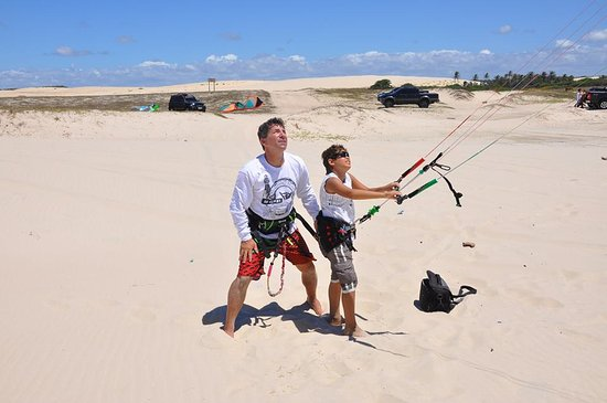 Pompano Beach Kiteboarding: We teach kids to kite. Its a easy  sport to learn, just takes a few lessonss