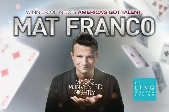 Mat Franco Magic Reinvented Nightly ...