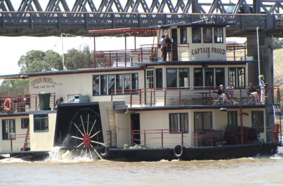 Murray River Lunch Cruise by Paddle...