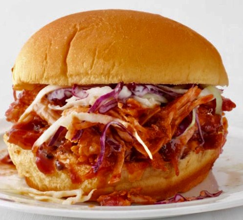 Hillsville, VA: Pulled pork barbecue