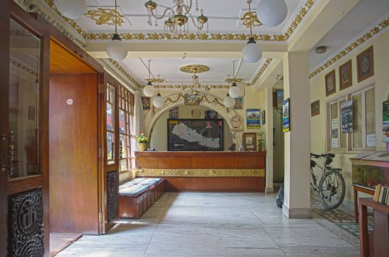 Hotel Discovery Inn: reception area of Hotel