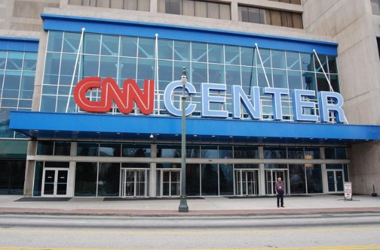 World of Coca Cola og CNN Center...