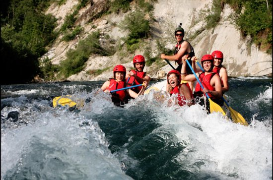 Rafting in Bled
