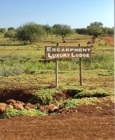 Escarpment Luxury Lodge : Entrance to the Grounds