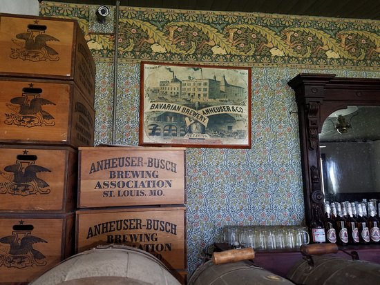 Fort Laramie, WY: Bar at Ft Laramie