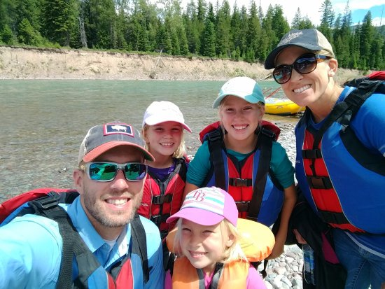 West Glacier, MT: One happy family!