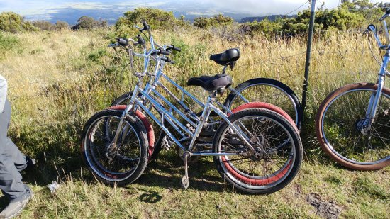 Paia, Hawaï: The bikes were in poor shape and lacked any semblence of maintenance!