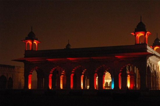 Red Fort sounds and lights show with ...