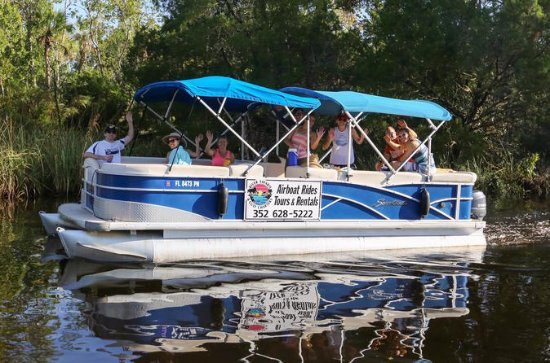Pontoon Boat Rental på Homosassa River