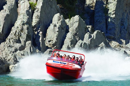Hanmer Springs Jetboat and Bungy Jump ...