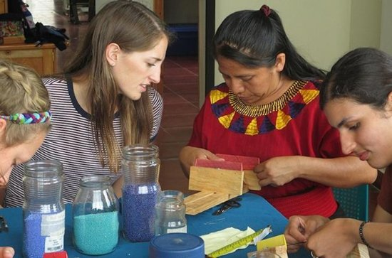 Beading Class and tour a Non-profit...