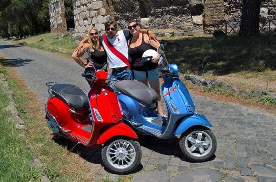 Appian Way Vespa Tour with a driver...