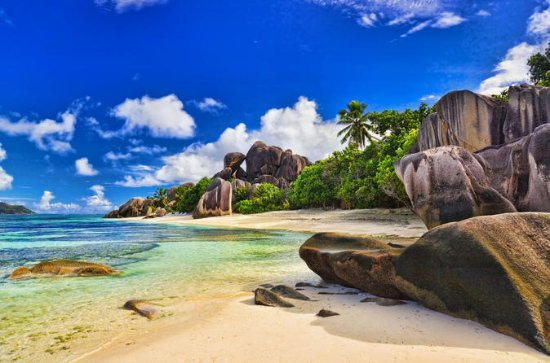 Full-Day Praslin and La Digue by Boat ...