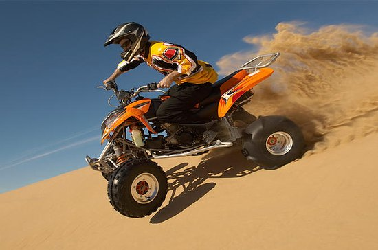 Quad Bike Dune Drive with BBQ Dinner and Live Entertainment