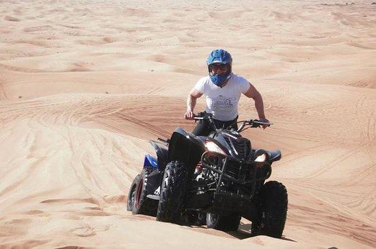 Dubaï: Quad Bike Desert Dune Drive