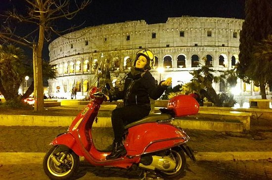 Romantic Vespa Tour of Rome by Night...