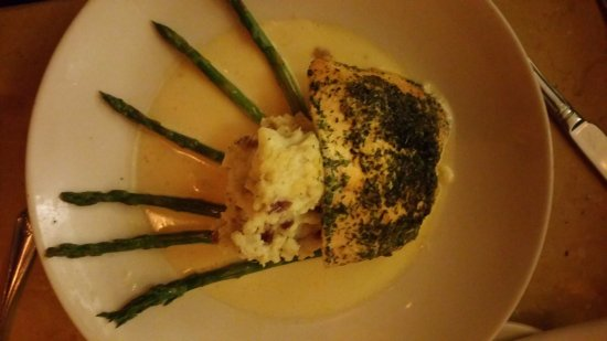 Bethesda, MD : Herb Crusted Filet of Salmon